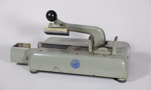 Manuelle Adressiermaschine (Adrema), um 1970