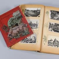 Ansichtskartenalben in der Sammlung der Museumsstiftung Post und Telekommunikation