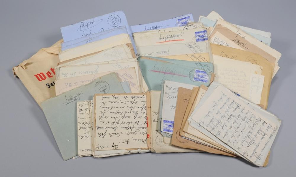 Feldpost, Konvolut Preugschat, 650 Dokumente, 1938-1943