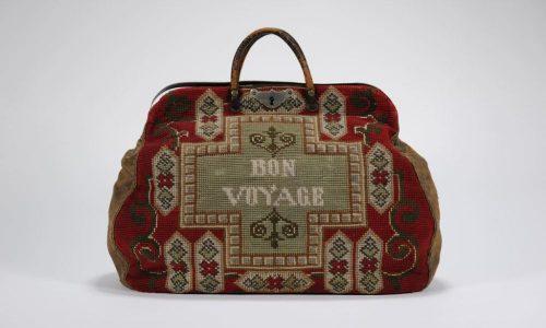 """Damen-Reisetasche """"Bon Voyage"""", ca. 1900 bis 1930"""