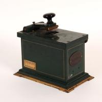"""Stempelmaschine """"Schwabacher"""", 1900 bis 1920"""