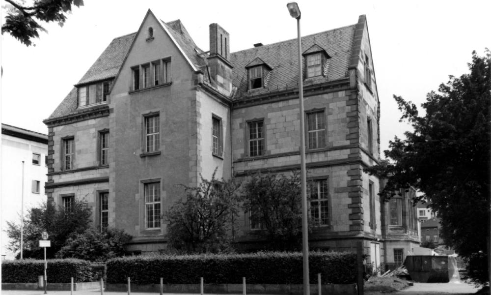 Bundespostmuseum am Frankfurter Schaumainkai, 1960er Jahre