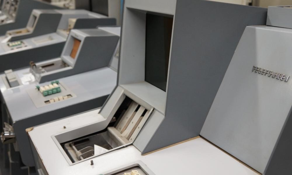 Bueroautomation in der Computersammlung der MSPT