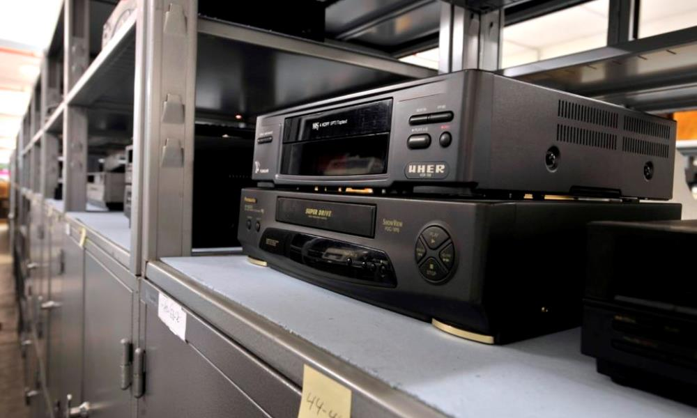 Videorekorder in der Sammlung der MSPT
