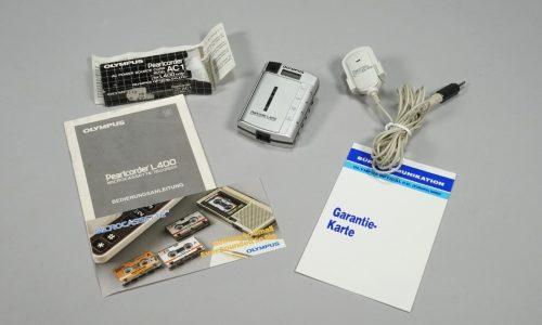 Diktiergerät, Mikrokassettenrecorder Olympus Pearlcorder L400, 1994