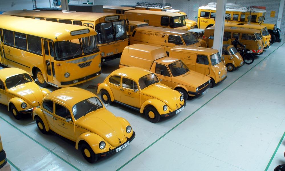 Fahrzeuge im Depot Heusenstamm