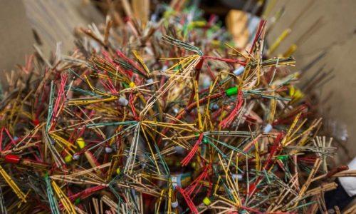 Kabel und Leitungen im Depot Heusenstamm