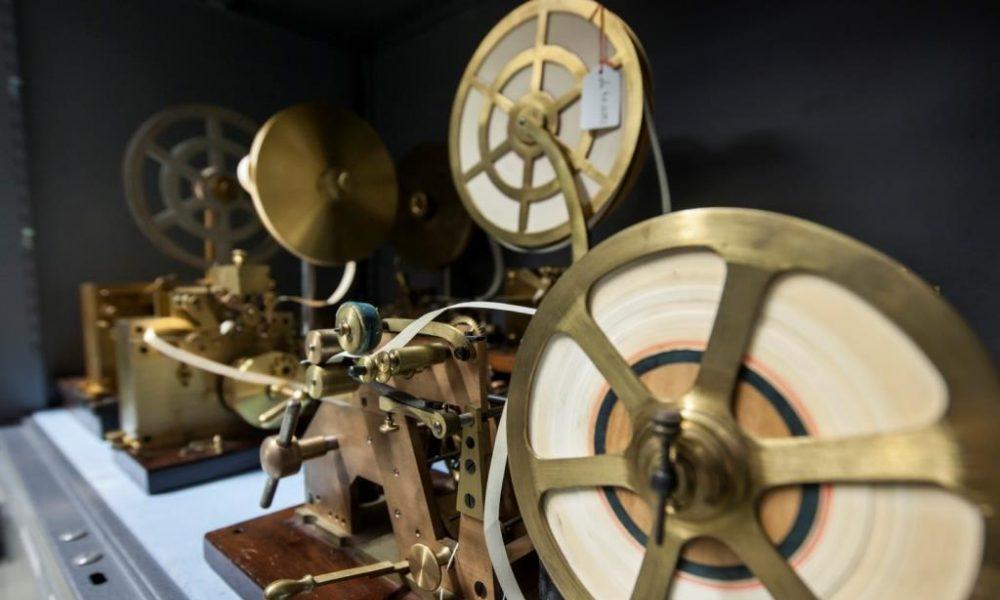 Morsetelegrafen im Depot Heusenstamm