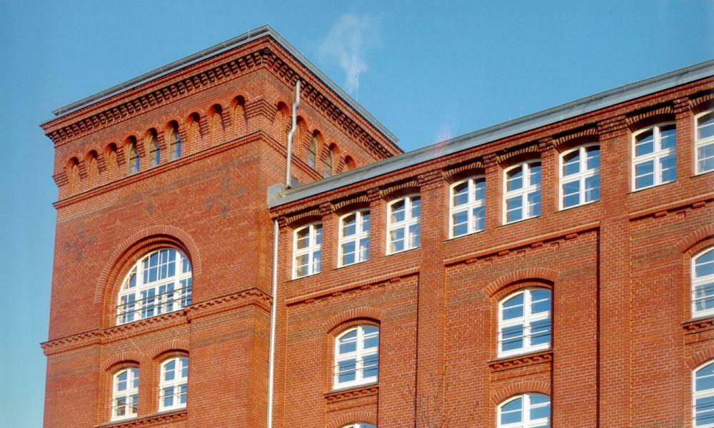 Sammlungsdepot Ringbahstraße Berlin, Nordansicht mit Turm