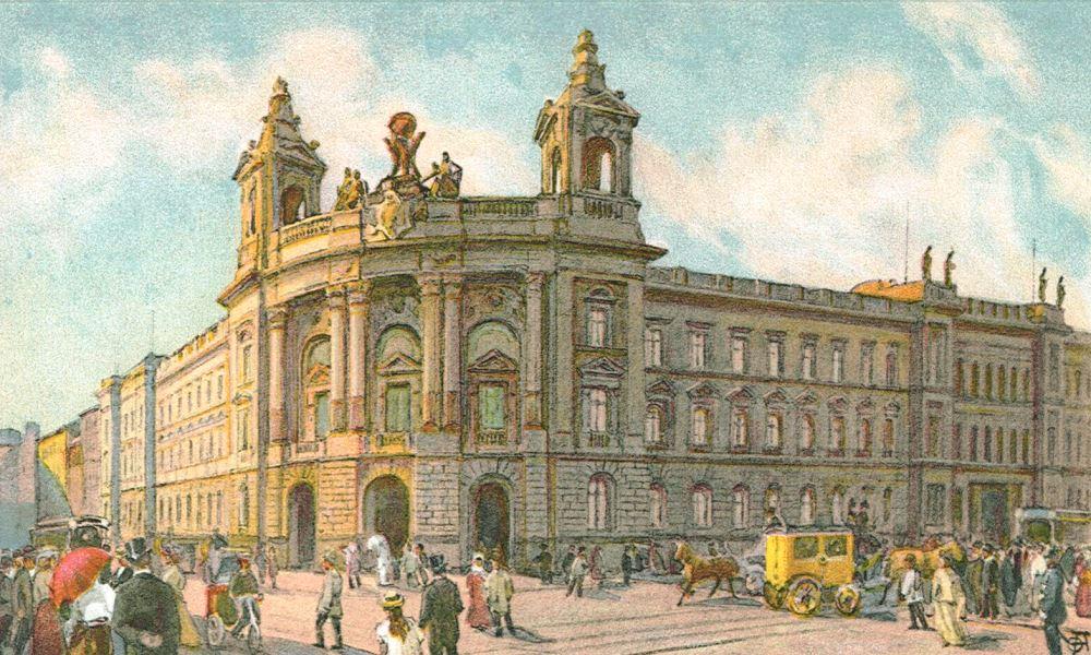 Sammlungsgeschichte Reichspostmuseum Berlin