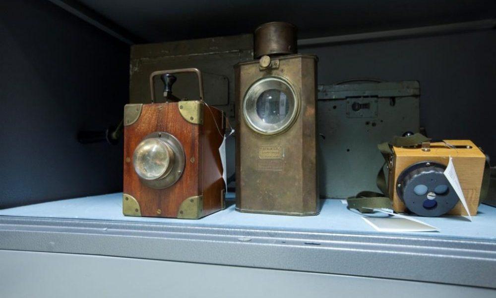 Morselampen im Depot in Heusenstamm